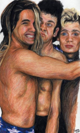 Red Hot Chili Peppers par dullove